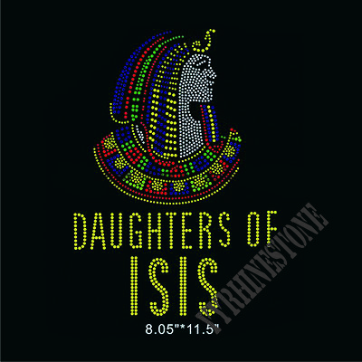 Daughters of ISIS hotfix rhinestone transfer
