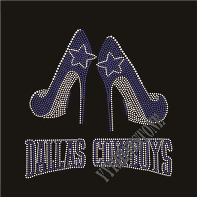 Dallas cowboys rhinestone transfer